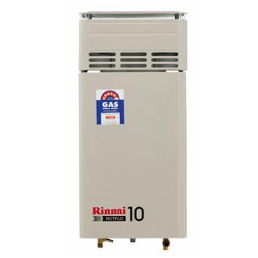 Rinnai Hotflo 10 hot water system