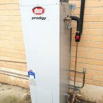 Dux Prodogy gas hot water tank