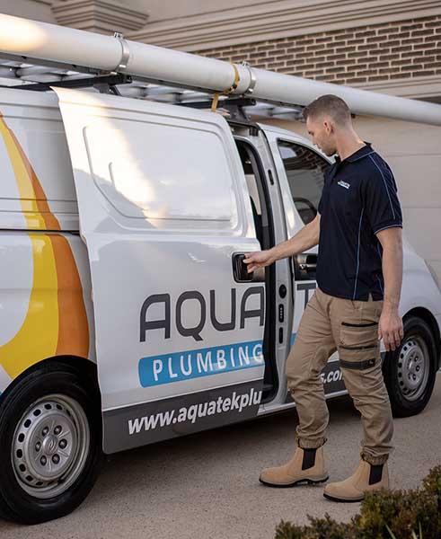 Local Plumper opens Aquatek Plumbing & Gas van
